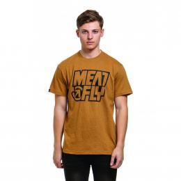 Tričko Meatfly Repash 2019 A - Heather Mustard