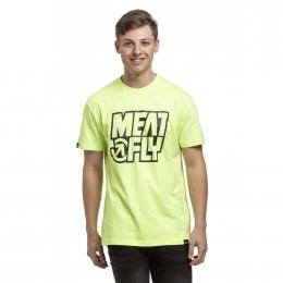 Tričko Meatfly Repash 2019 E - Safety Yellow
