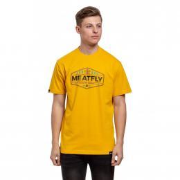 Tričko Meatfly Patrol 2019 B - Gold