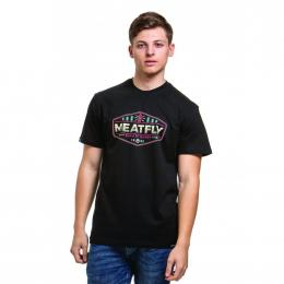 Tričko Meatfly Patrol 2019 C - Black