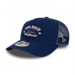 Long Beach Trucker OSFM Blue/Pink