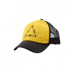 Kšiltovka Nugget Shell 2 Trucker 2019 B - Grid Yellow, Black
