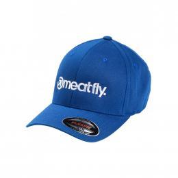 Kšiltovka Meatfly Brand Flexfit 19/20 D - Royal
