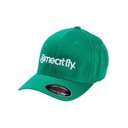 Kšiltovka Meatfly Brand Flexfit 19/20 E - Pepper Green