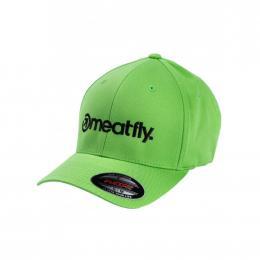 Kšiltovka Meatfly Brand Flexfit 19/20 F- Fresh Green