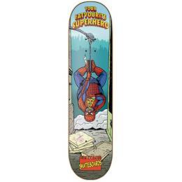 skate deska Cruzade Your Fatvorite superhero 2019 8,5 Spiderman