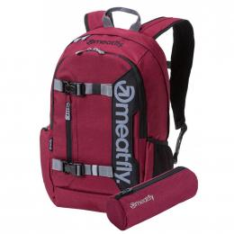 Batoh Meatfly Basejumper 5 20L 19/20 G - Heather Burgundy, Black