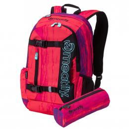 Batoh Meatfly Basejumper 5 20L 19/20 H - Ambient Pink, Black