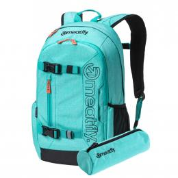 Batoh Meatfly Basejumper 5 20L 19/20 L - Heather Light Mint, Black