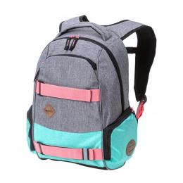 Batoh Nugget Bradley 3 24L 19/20 F Ht. Grey, Ht. Light Mint, Black