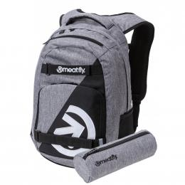 Batoh Meatfly Exile 4 22L 19/20 A - Heather Grey/Black