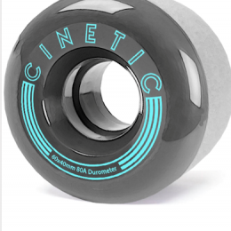 kola na skateboard Cinetic Nebula 2019 grey 60mm