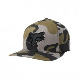 kšiltovka Fox Epicycle Flexfit Hat 19/20 grey camo