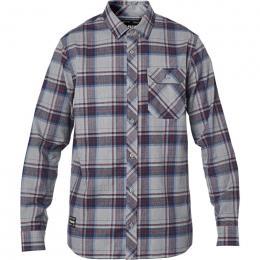 pánská košile Fox Gamut Stretch Flannel 20/21 Heather Graphite
