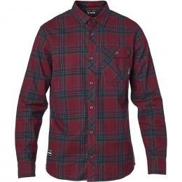 pánská košile Fox Gamut Stretch Flannel 20/21 Cranberry