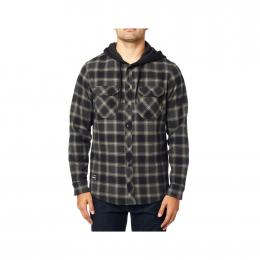 Košile Fox Avalon Hooded Flannel 19/20 Black