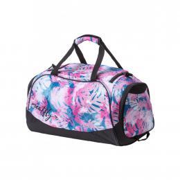 Cestovní taška Rocky 3 Duffle Bag 19/20 B - Pink Leafs