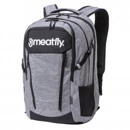 batoh Meatfly Poetrik 2 Backpack 19/20 A- Heather Grey, Black