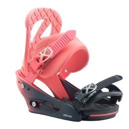 dámské vázání na snowboard Burton Stiletto 19/20 pink fade