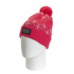 Zimní čepice Meatfly Dot 3 19/20 A - Coral Pink