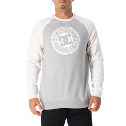 Mikina Dc Shoes Circle Star 19/20 Heather Gray / Snow White