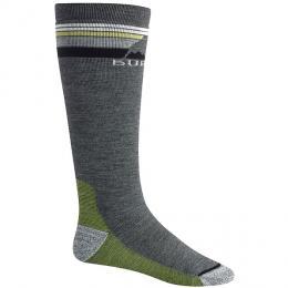 zimní ponožky Burton Emblem Midweight Socks 19/20 mens iron