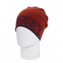 Zimní čepice Nugget LOGO 5 Reversible 19/20 C - Navy, Brick Red