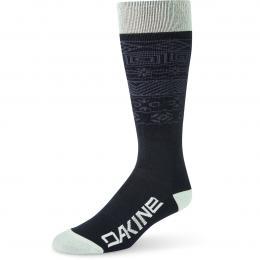 dámské ponožky Dakine womens Freeride Socks 19/20 green lily/hoxton