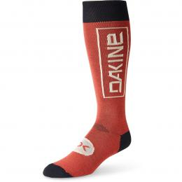 ponožky Dakine Mens Thinline Socks 19/20 tandoori spice/black