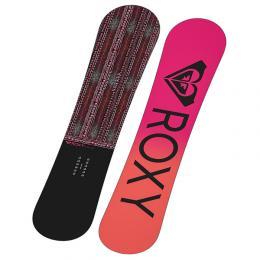 dámský snowboard ROXY Wahine 19/20 black pink