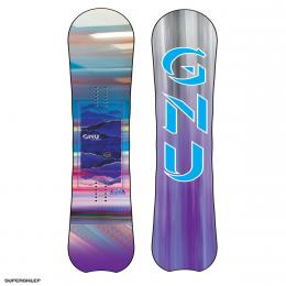 dámský snowboard GNU Chromatic BTX 19/20 Multicolor