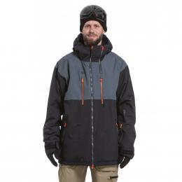Zimní Bunda Nugget Kestrel Jacket 19/20 C - Lead Grey, True Black