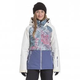 dámská zimní bunda Nugget Trish 19/20 A- Linen White, Palm, Fjord Blue
