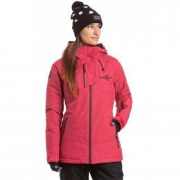 dámská zimní bunda Meatfly Deborah Jacket 19/20 H- Jalapeno Heather red