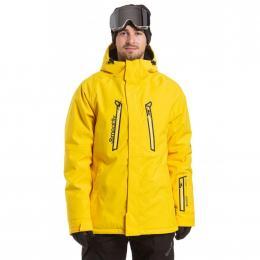 Pánská Snowboardová bunda Meatfly Dodge 19/20 D - Cyber Yellow