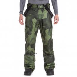 zimní kalhoty na lyže/snowboard Meatfly Ghost 4 19/20 F - Shade Mono Olive