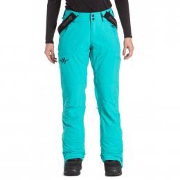 dámské kalhoty na snowboard/lyže Meatfly Foxy 19/20 B-Lake Green