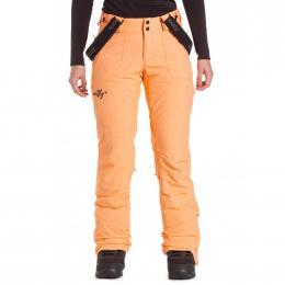 dámské kalhoty na snowboard/lyže Meatfly Foxy 19/20 C - Papaya
