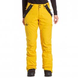 dámské kalhoty na snowboard/lyže Meatfly Foxy 19/20 E - Yellow Stripe