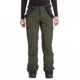 dámské kalhoty na snowboard/lyže Meatfly Foxy 19/20 F-Green stripe