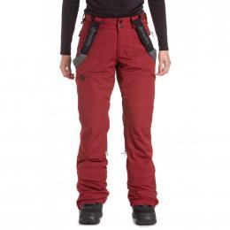 dámské kalhoty na snowboard/lyže Meatfly Foxy 19/20 G- Merlot Stripe