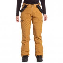 dámské kalhoty na snowboard/lyže Meatfly Foxy 19/20 I - Wood Stripe