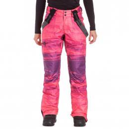 dámské kalhoty na snowboard/lyže Meatfly Foxy 19/20 K - Ambient Pink
