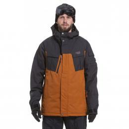 pánská bunda Nugget Caligula Reborn Jacket 19/20 C-Rust ripstop,black