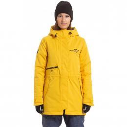 Dámská Zimní bunda Meatfly Bunny 2 19/20 A - Yellow Stripe