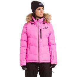Dámská Zimní Bunda Meatfly Bonie 2 19/20 C - Safety Pink