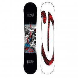 pánský snowboard GNU Carbon Credit asym twin 19/20 Multicolor