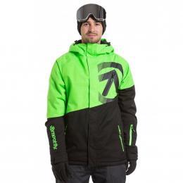 Pánská Zimní bunda Meatfly Bang 19/20 A - Safety Green, Black