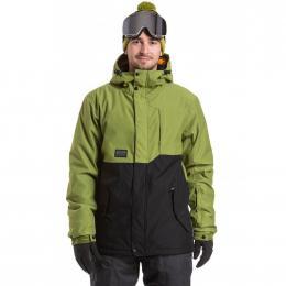 Pánská zimní bunda Meatfly Mick 2 19/20 B - Turtle Green, True Black
