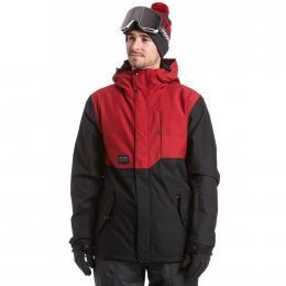 Pánská zimní bunda Meatfly Mick 2 19/20 A- Deep Red, True Black
